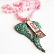 New Life Necklace Pink