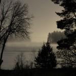 Dimma över Spjutmosjön