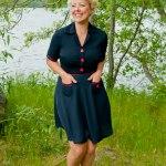 Navy Dress #102