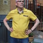 Contrast Shirt Mustard
