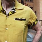 Mustard Contrast Shirt