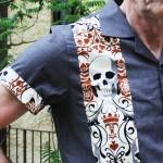 Skull Panel Shirt