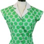 Ester Blouses - Green flower
