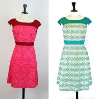 Annika flower dress