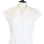 Ester Blouses - White Solid