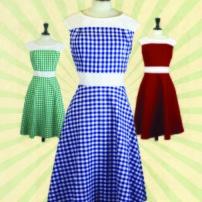 Annika Ginghem Dress