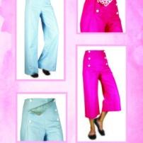 Sailor Pants Canvas