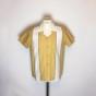 Double Panel Shirt - Mustard