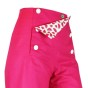 Sailor Pants Canvas - Bright Pink Melon
