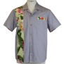 Panelshirts - Grey Hawaii