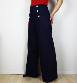Sailor Pants Denim