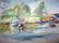 8 Blekinge skärgård,akvarell