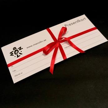 Presentkort - Presentkort för frakt, 58 kr