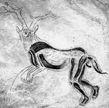 """""""Trollkarlen"""" från grottorna i Trois Fréres."""