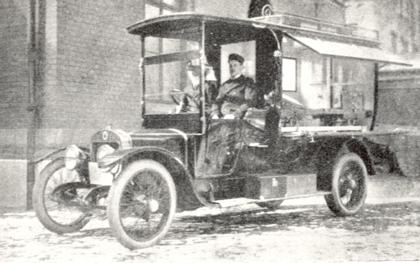 Ambulansautomobilen typ Minerva