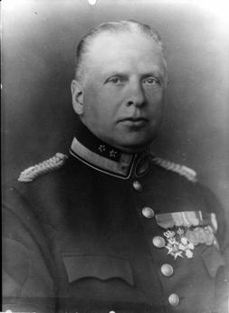 Brandchef Gustav Ekstedt 1910 - 1931