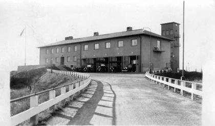 1 oktober 1937 togs Lundby nya brandstation i bruk.
