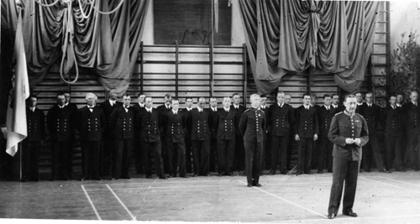 Invigning 1938  (brandchef Eric Nicander)