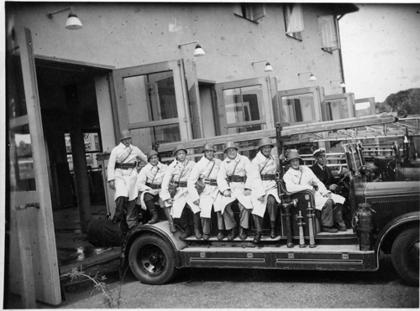 Hjälpbrandmän under krigsåren