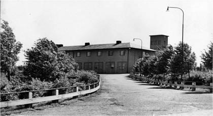 Lundby brandstation 1945
