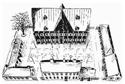 Kronhuset och bodarna