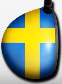 BigWigz Skins - gör din driver personlig! - Svenska flaggan (RH)