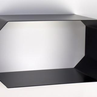 1801S Hylla svart 20x39x20