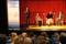Karin Semberg, kultur och fritidsdirektör; Katinka Borg, regionbibliotekschef; Sergei Muchin, länsmuseichef; Lars Östvall, Jönköpings läns folkrörelsearkiv.