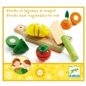 Djeco Fruits And Vegetables To Cut - Djeco Fruits And Vegetables To Cut