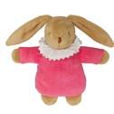 Trousselier Kanin (Rosa) Med Nappgömma - Trousselier Kanin (Rosa) Med Nappgömma