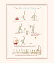 Maileg The Carrot Story Plansch - Maileg The Carrot Story Plansch