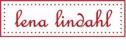Lena Lindahl Rosa Med Vita Prickar