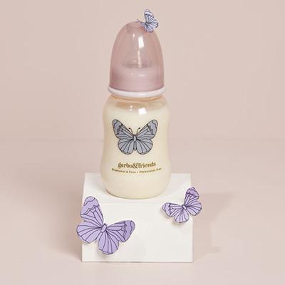 Garbo & Friends Babybottle Butterfly 150ml - Garbo & Friends Babybottle Butterfly 150ml