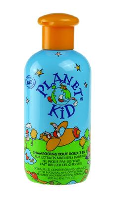 Planet Kid Schampoo Aprikos (200ml) - Planet Kid Schampoo Aprikos (200ml)