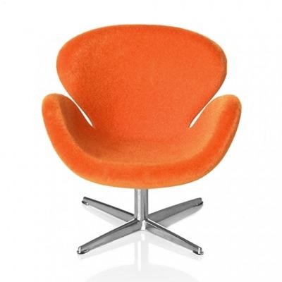 Minimii Arne Jacobsen Svanen Fåtölj Miniatyr (Orange) - Minimii Arne Jacobsen Svanen Fåtölj Miniatyr (Orange)
