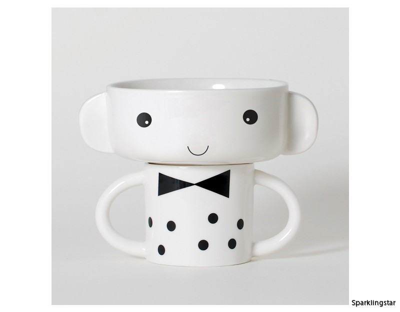 Wee Gallery Mealtime Stacking Set (Boy)