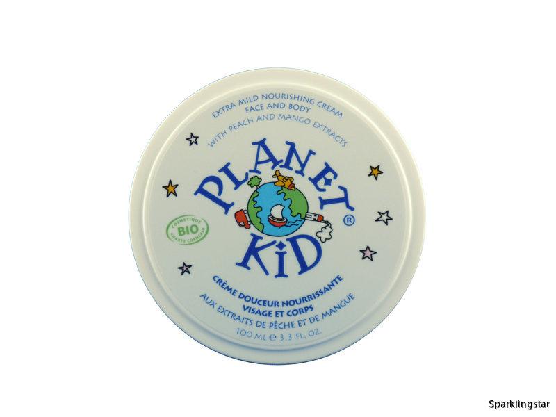 Planet Kid Extra Mild Kräm För Ansikte Samt Kropp