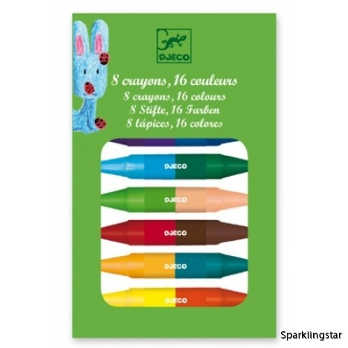 Djeco Twins Crayons