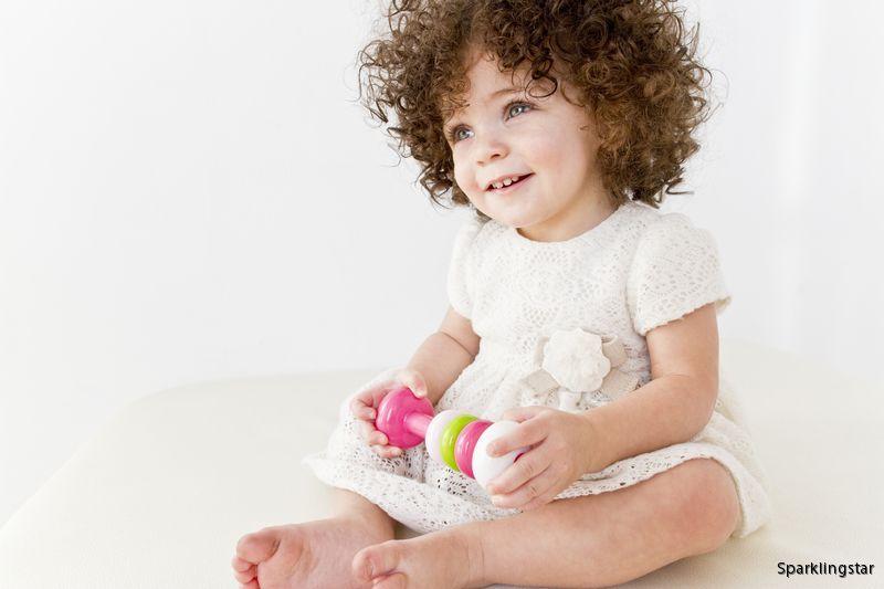 Kid O Hantel Skallra ( Rosa )