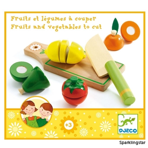 Djeco Fruits And Vegetables To Cut