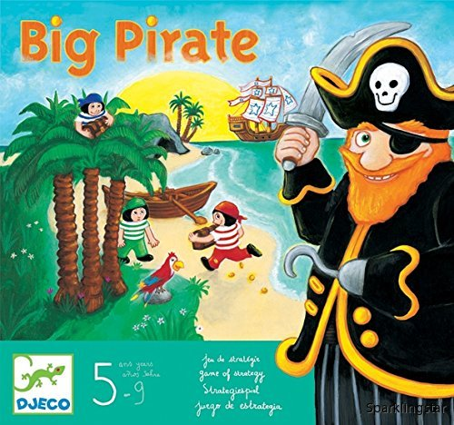Djeco Board Games Big Pirate