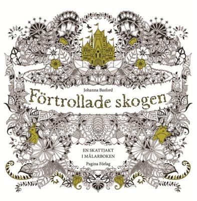 Förtrollade Skogen Johanna Basford (Målarbok) - Förtrollade Skogen Johanna Basford (Målarbok)