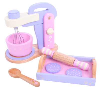 BigJigs Candy Floss Food Mixer Set - BigJigs Candy Floss Food Mixer Set