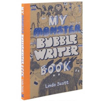 My Monster Bubble Writer Book (Målarbok) - The Super Book for Superheroes (Målarbok)