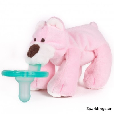 WubbaNub Pink Bear (Napp)
