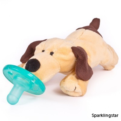 WubbaNub Brown Puppy (Napp)