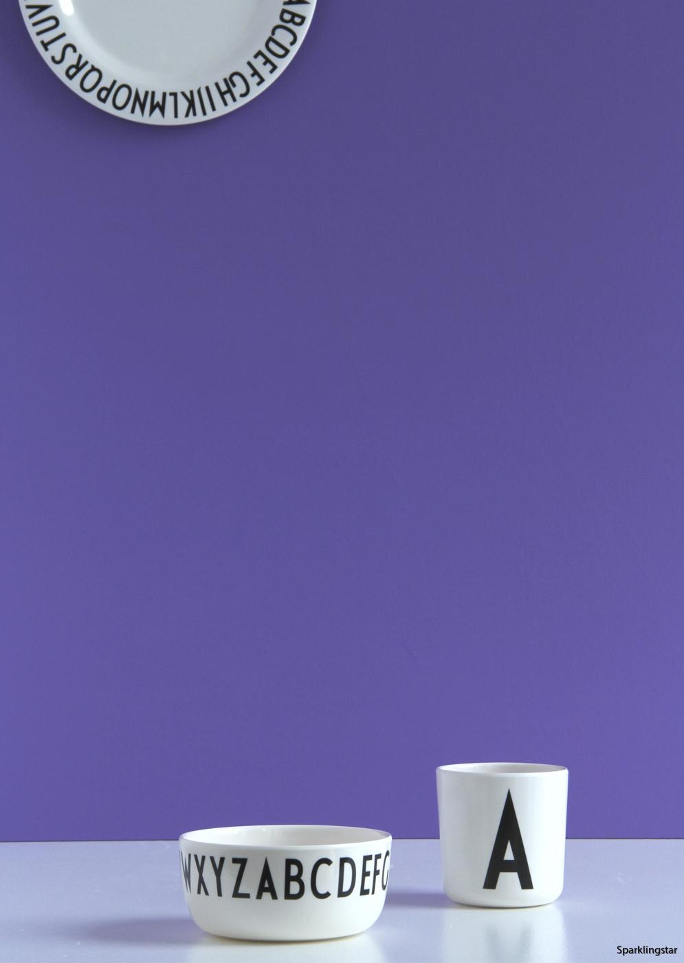 DESIGN LETTERS Skål Melamin (11 cm)