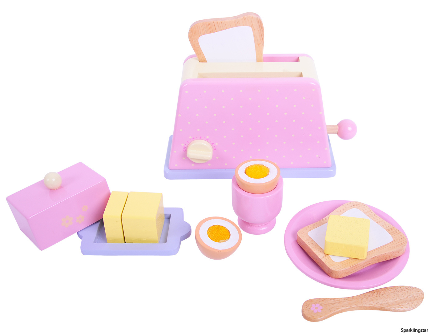 BigJigs Candy Floss Breakfast Set