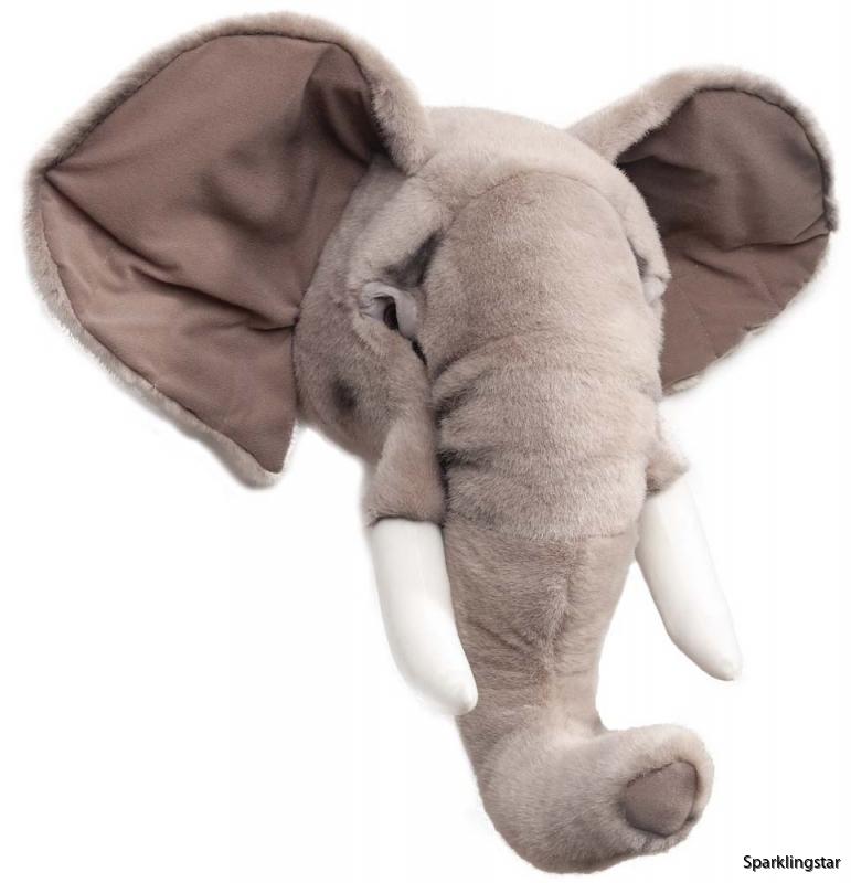 Brigbys Djurhuvud Elefant