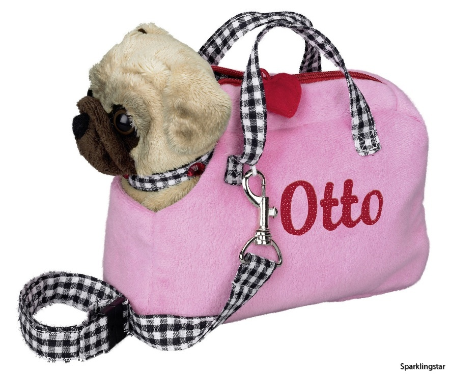 Die Spiegelburg Mopsen Otto I Väska
